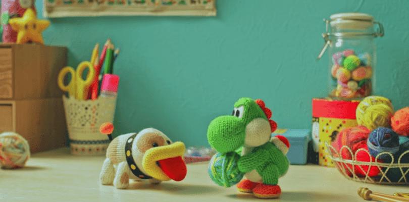 Nintendo muestra un nuevo corto de Poochy & Yoshi's Woolly World