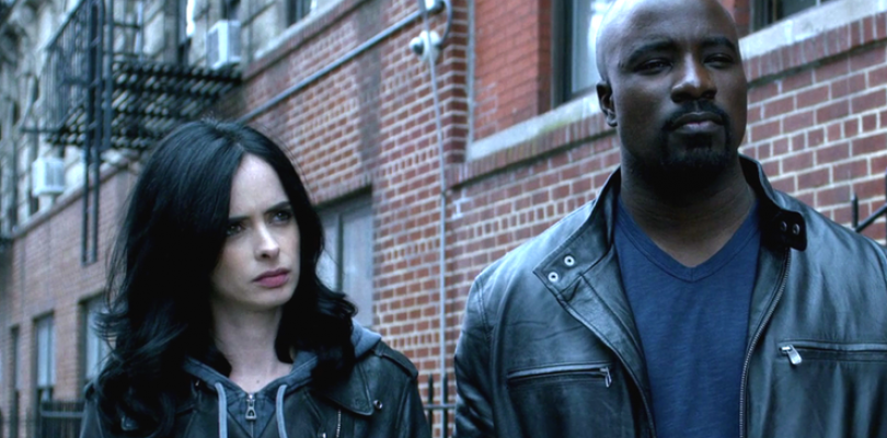 Luke Cage y Jessica Jones se reencuentran en The Defenders