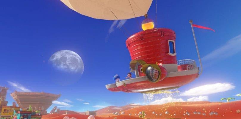 Super Mario Odyssey da más detalles de su mundo abierto