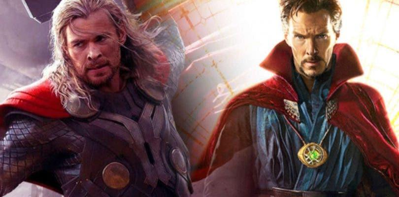 Doctor Strange se cuela en el tráiler internacional de Thor: Ragnarok