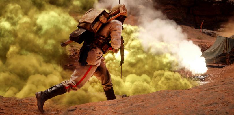 Battlefield 1 reducirá el nade spaming con el parche de marzo