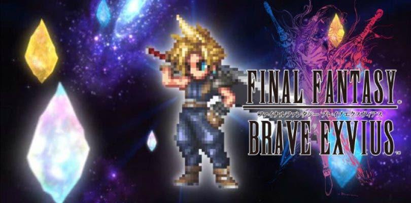 Cloud anuncia su llegada a Final Fantasy Brave Exvius