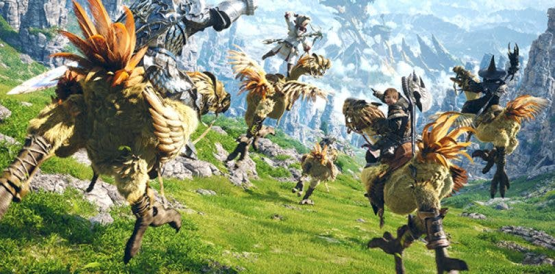 Final Fantasy XIV podría verse en Nintendo Switch