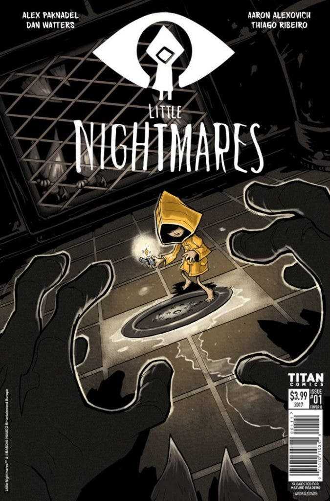 Portada del comic de Little Nightmares