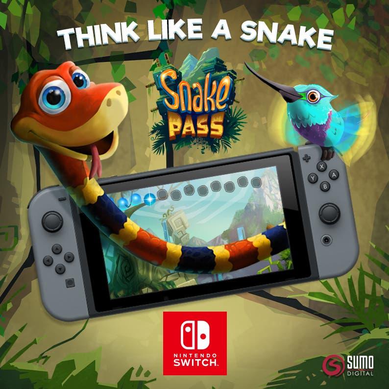 Imagen de La edición física de Snake Pass estará a la venta en unas pocas semanas