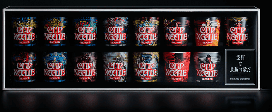 Cup Noodle Final Fantasy Boss Collection
