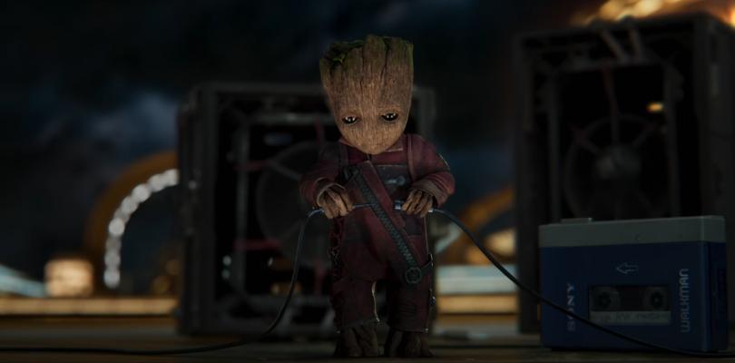 Groot pone la música en el spot de Guardianes de la Galaxia Vol. 2