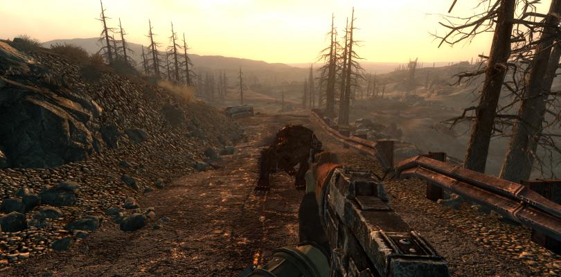 Comparativa gráfica del parche en alta resolución de Fallout 4