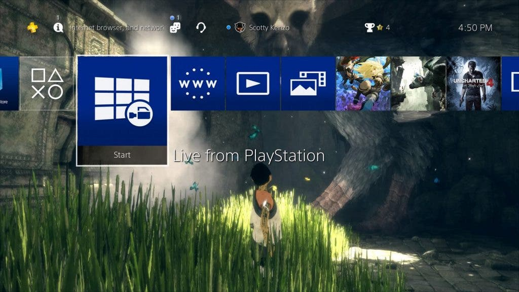 Firmware 4.50 PlayStation 4