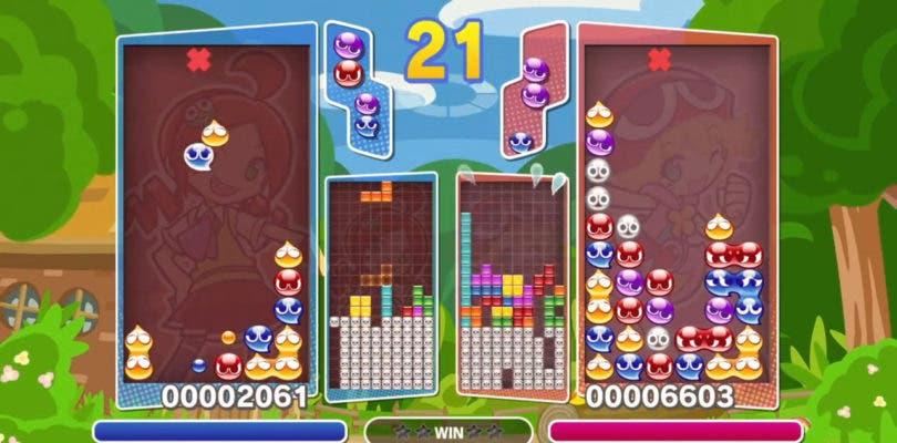 Puyo Puyo Tetris se prepara para su lanzamiento