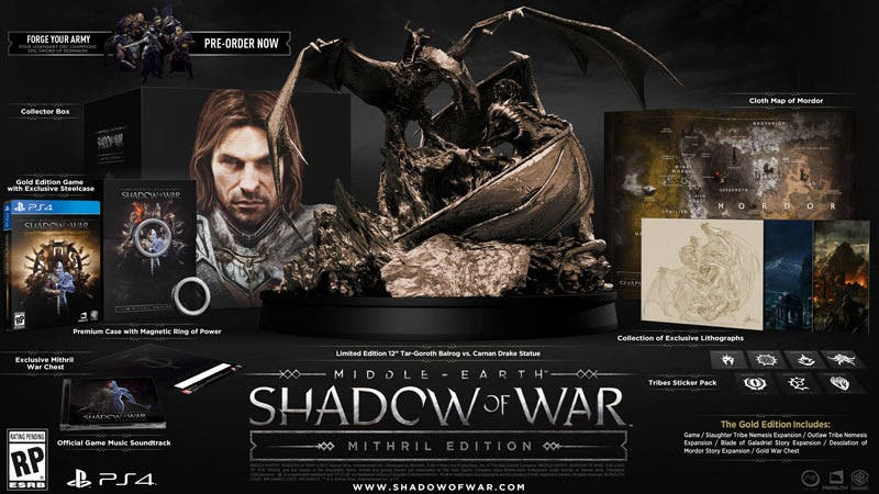 Sombras de Guerra Edición Mithril