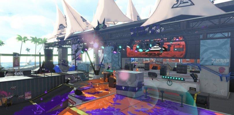 Splatoon 2 saca a la luz Diadema Amphitheater, un nuevo escenario