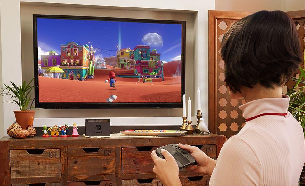 Nintendo Switch en modo sobremesa