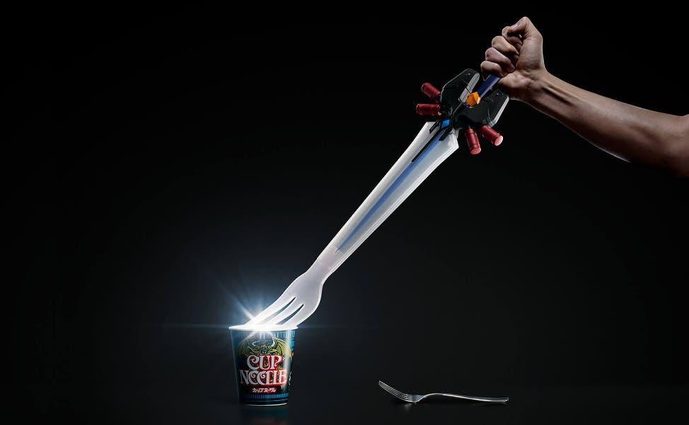 Tenedor Final Fantasy Cup Noodle