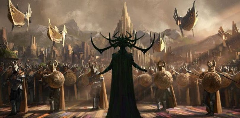 Nuevos concept arts de Thor: Ragnarok muestran a Hela y Hulk