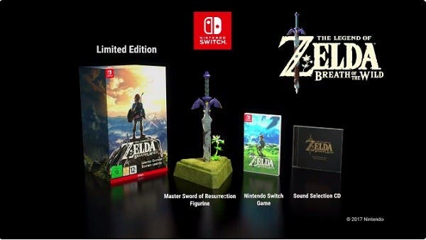 The Legend of Zelda: Breath of the Wild coleccionista