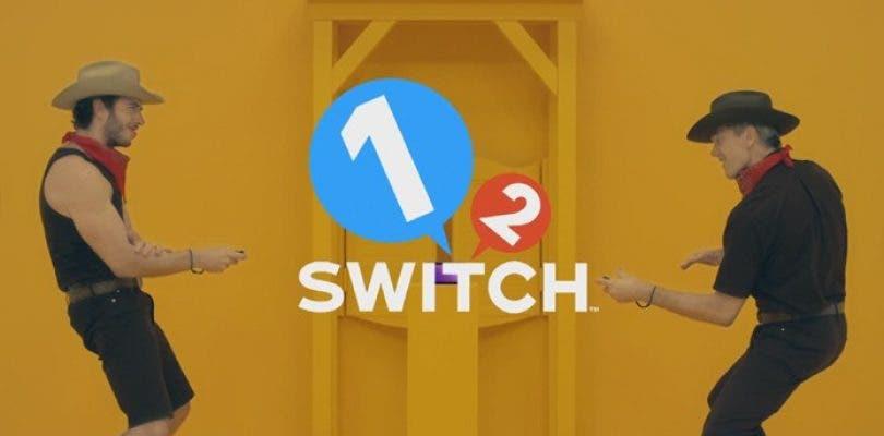 Nintendo recopila en un vídeo todos los minijuegos de 1-2-Switch