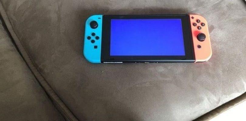 Naranja y azul son los pantallazos de la muerte de Nintendo Switch