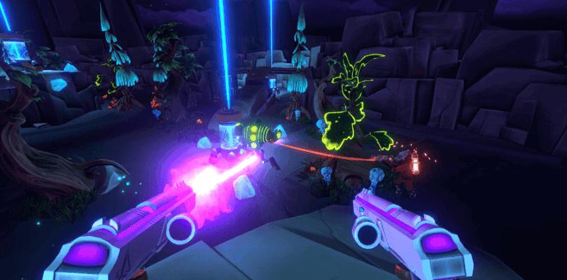 Aftercharge es el nuevo shooter de Chainsawesome Games