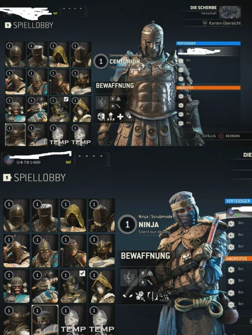 For Honor nuevos héoes