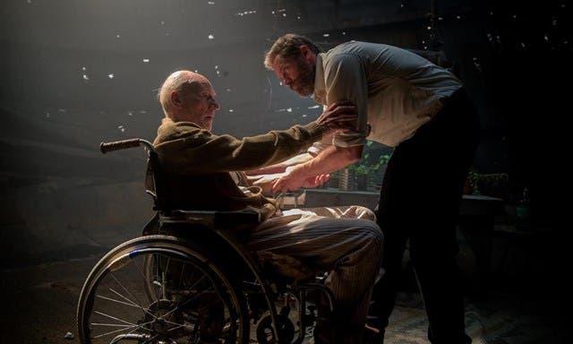 Logan y Charles Xavier