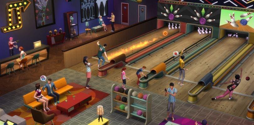 Disfruta jugando a los bolos en Los Sims 4