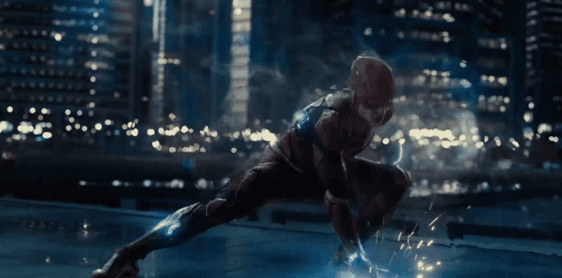 The Flash muestra sus poderes en el nuevo teaser de Justice League