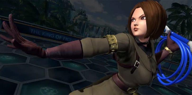 Whip se deja ver en un gameplay de The King of Fighters XIV