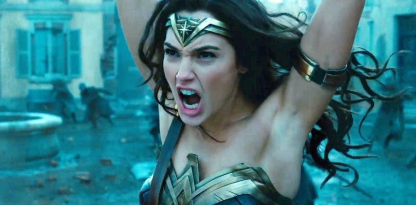 Wonder Woman se depila las axilas con CGI