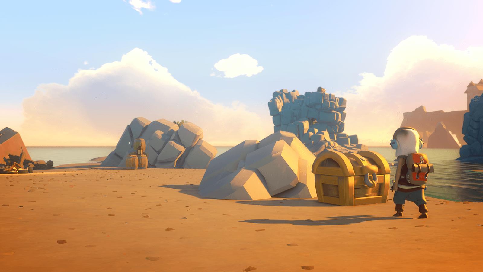 Imagen de Yonder: The Cloud Catcher Chronicles sigue mostrando sus paisajes