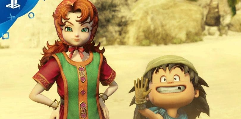 Dragon Quest Heroes II muestra a Maribel y Gronzo en un tráiler