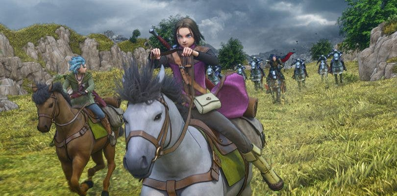 Nueva ronda de capturas de pantalla sobre Dragon Quest XI