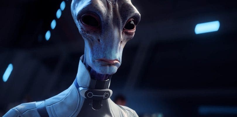 Se muestra un nuevo personaje de Mass Effect Andromeda