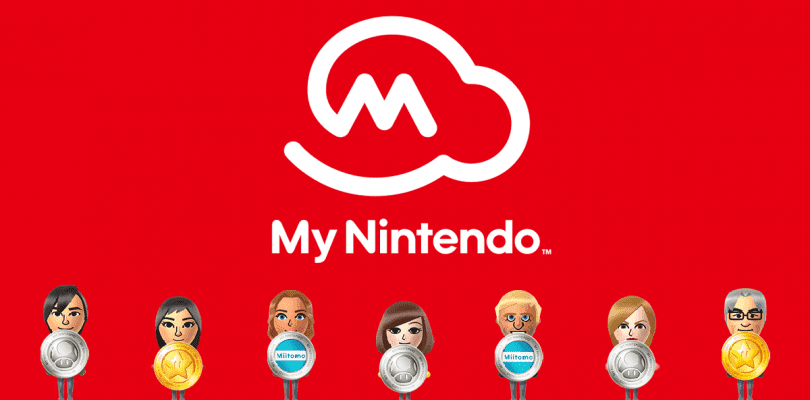My Nintendo actualiza su catálogo de recompensas regionales