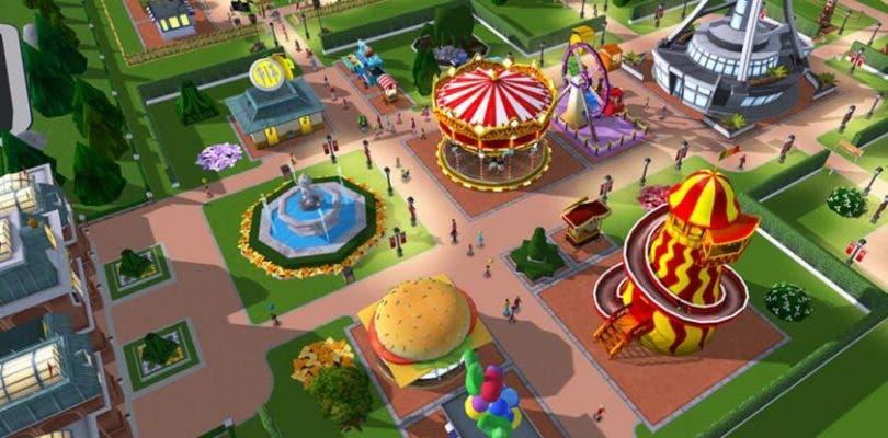 Se dan a conocer nuevos detalles acerca de Rollercoaster Tycoon para Switch