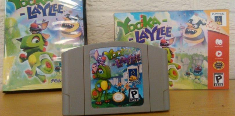 Yooka-Laylee homenajea a Nintendo 64 en su edición de lujo