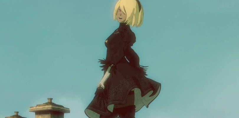 Así es el traje de NieR: Automata que Kat lucirá en Gravity Rush 2
