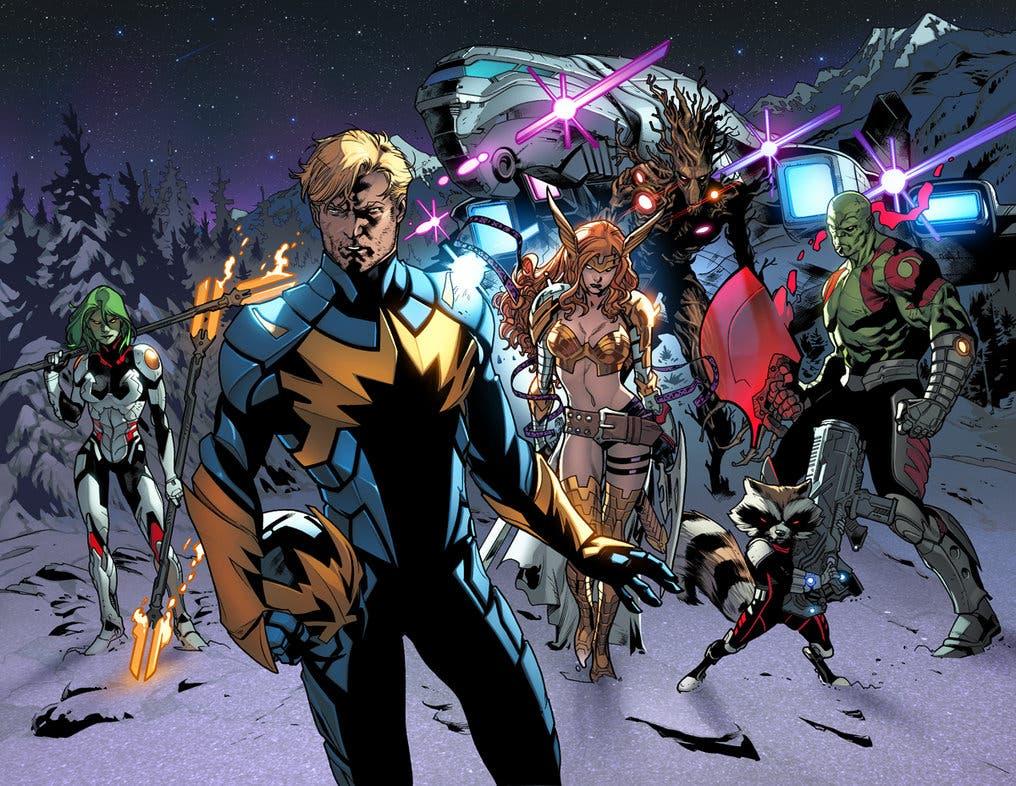 Imagen de Guardianes de la Galaxia Vol. 4 tendría a un equipo muy diferente