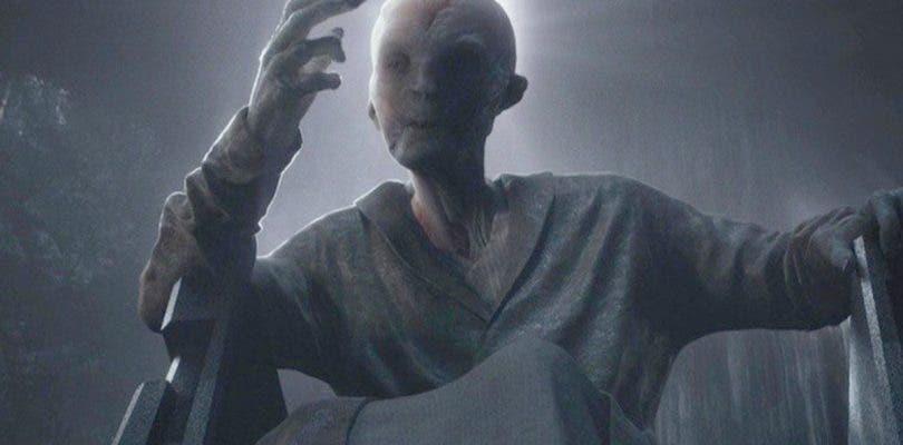 Nuevos detalles del misterioso Snoke en Star Wars: Los Últimos Jedi