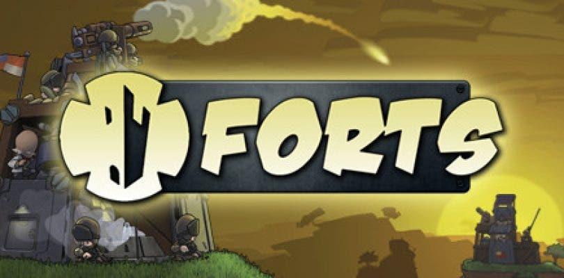 Forts llega a Steam y estrena  teaser tráiler de lanzamiento