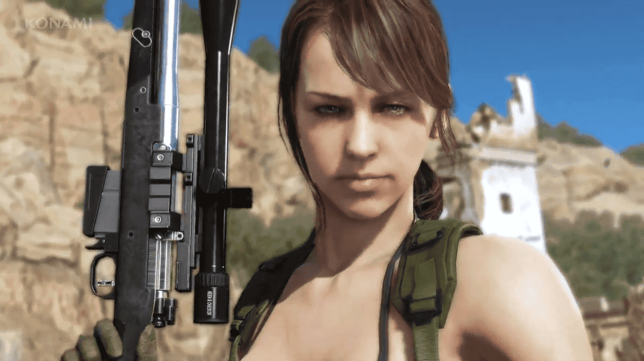 Imagen de Metal Gear Solid V: The Phantom Pain se actualiza para convertir a Quiet en personaje jugable