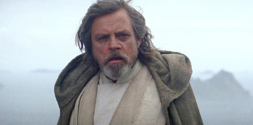 A Mark Hamill no le gusta Luke en Star Wars: Los Últimos Jedi