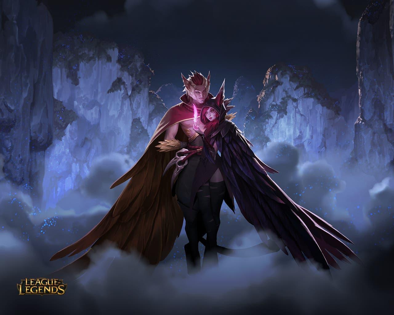League of Legends Rakan y Xayah