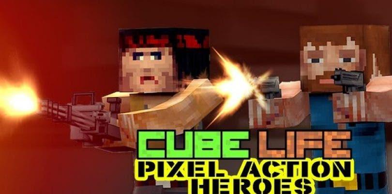Presentado Cube Life: Pixel Action Heroes para Wii U