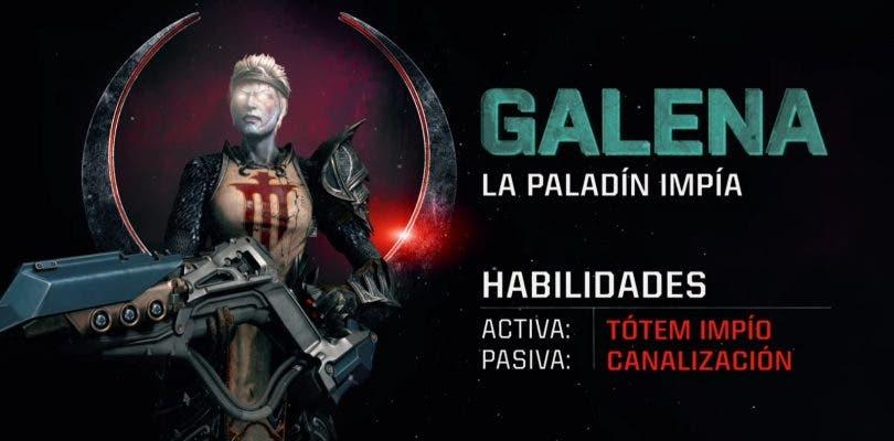 El nuevo tráiler de campeón de Quake Champions presenta a Galena