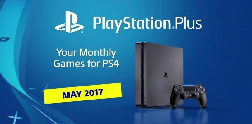 Anunciados los juegos de mayo de PlayStation Plus