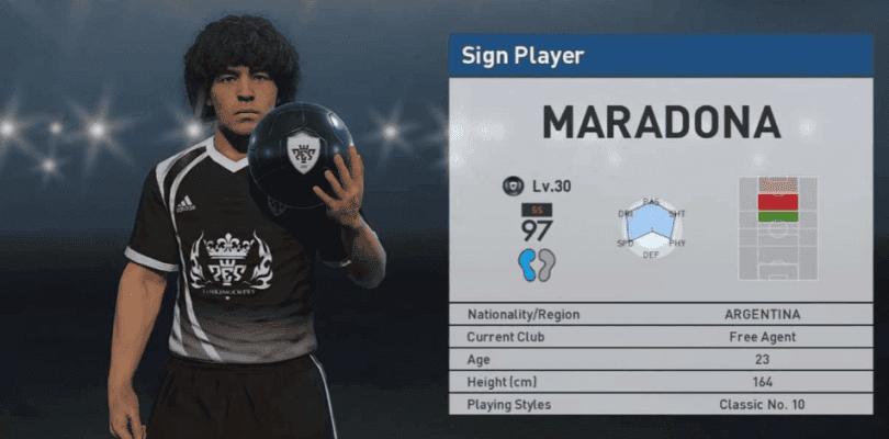 """Maradona carga contra Konami y amenaza con un """"juicio millonario"""""""