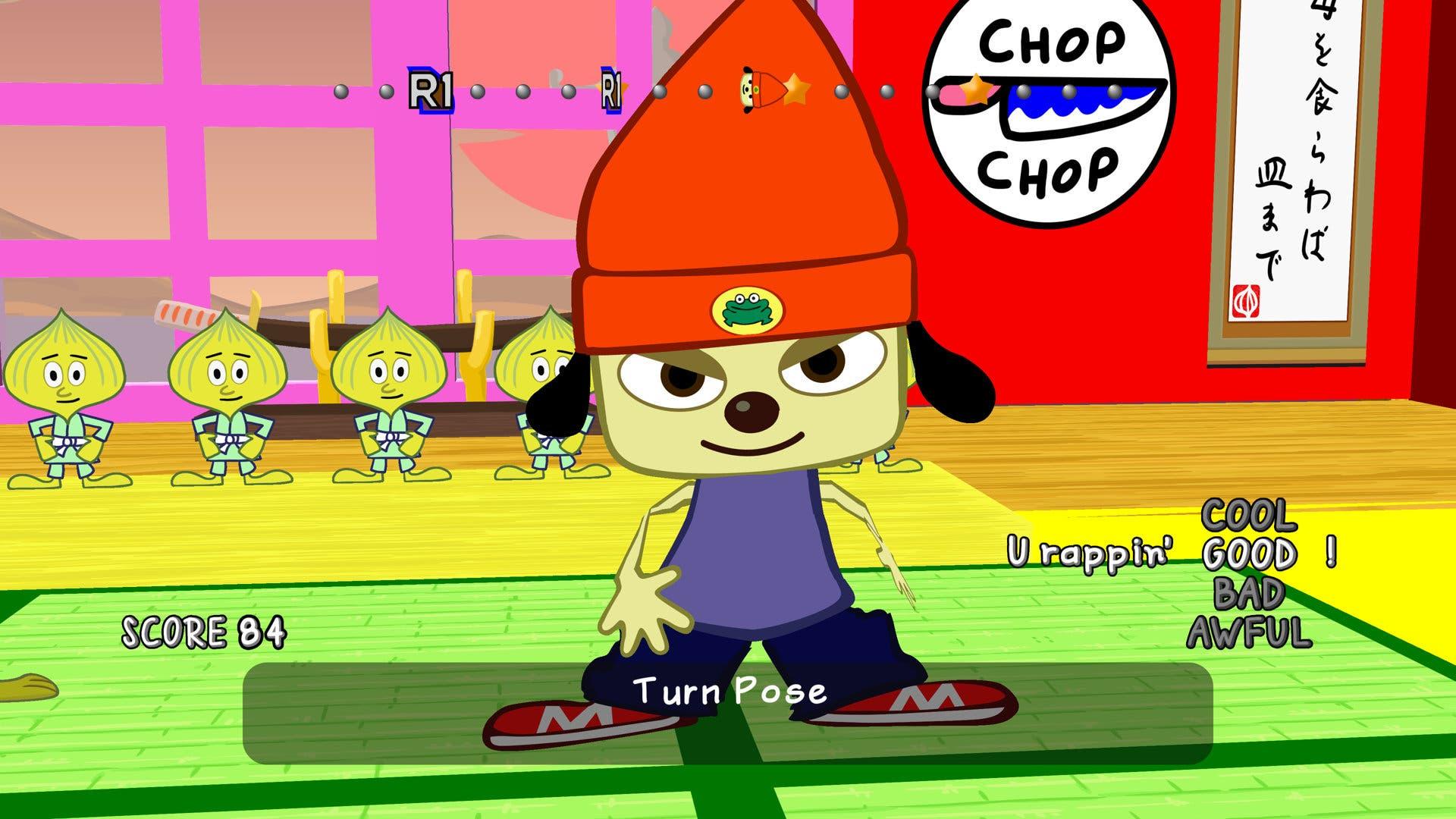 Imagen de Análisis PaRappa The Rapper Remastered