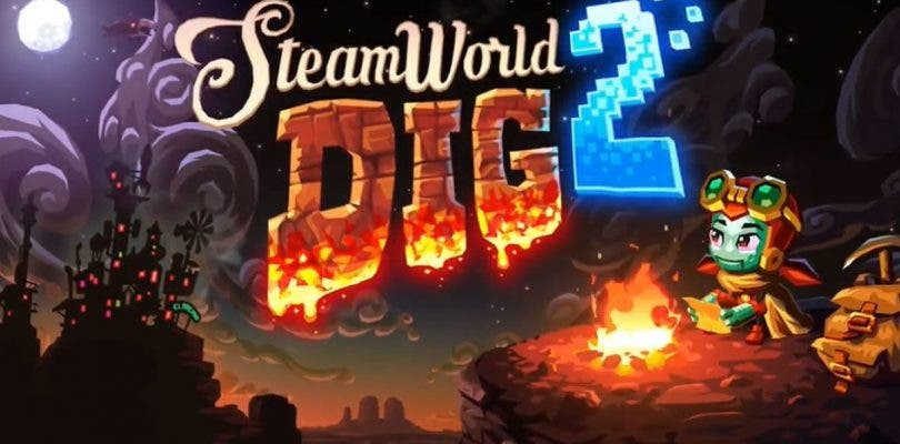 SteamWorld Dig 2 para Nintendo 3DS muestra su tráiler de lanzamiento