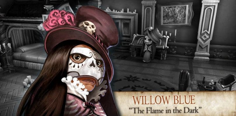 The Sexy Brutale muestra en movimiento a Willow Blue